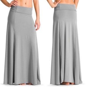 Athleta Kalia convertible maxi skirt